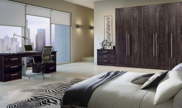 Bella Burnt Oak Bedroom Doors - By BA Components