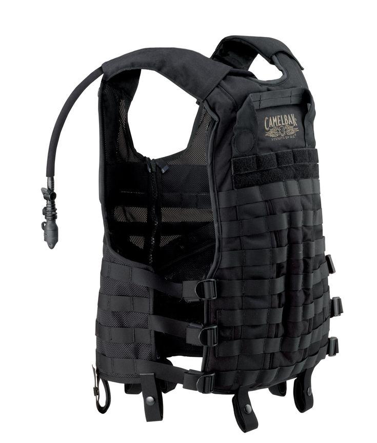 60436 TacticalVest Back Camelbak Delta 5 Tactical Vest and ST 5 Tactical Pack: Latest Tactical Hydration