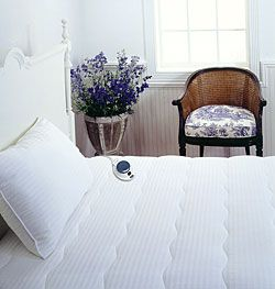 low voltage heated mattress pad