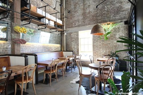 Rushcutters (Sydney) - Located in a large industrial warehouse, the floor-to-ceiling windows are always open, the food is perfect and the design unbeatable.