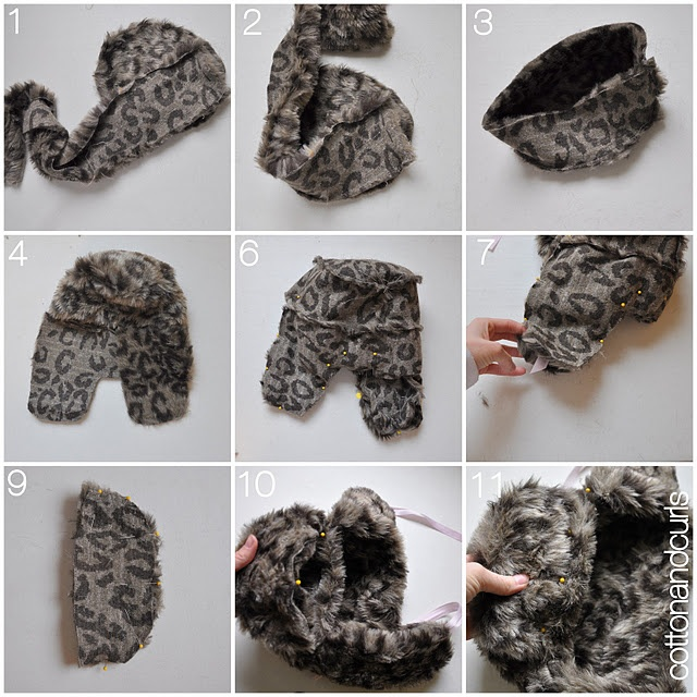 Fur Bomber Hat Tutorial. Might have to make one for the boy.... and  possibly my brother s gigantic head.  e2486bd38d7