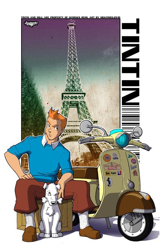 Tintin Fanart by ~siekfried
