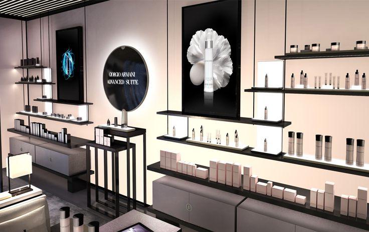 Rodolphe Parente Architecture Design • Architecture commerciale & retail design - Armani