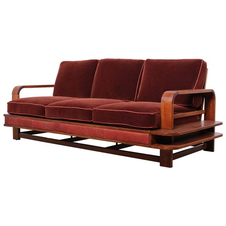 Rare Sofa Designed By Russel Wright For Conant Ball
