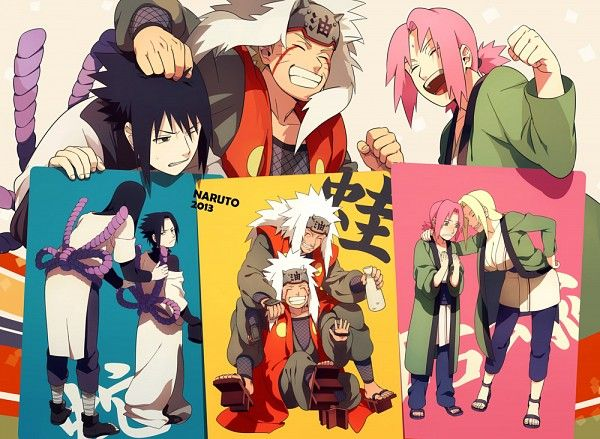 サスケ ナルト サクラ|佐助,鳴人,和小櫻cosplay他們的師傅們,呵呵|Sasuke, Naruto, and ...