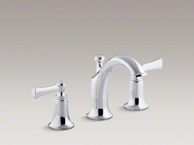Kohler Elliston Sink : Kohler Elliston faucet for downstairs bathroom