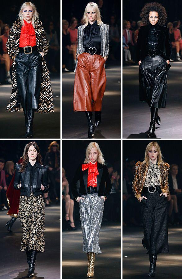 Glam fashion style