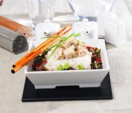 Recept Kuřecí čína s rýži od Vorwerk vývoj receptů - Recept z kategorie Hlavní jídla - maso