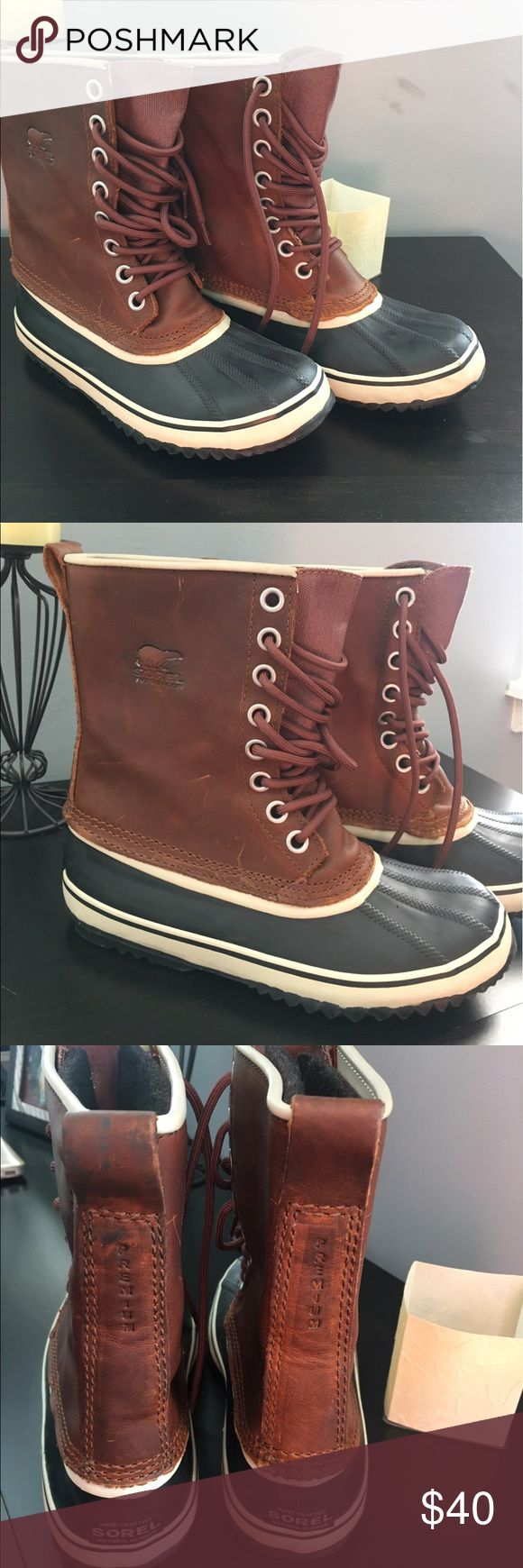 🔥💥SOREL women's duck boots🔥💥 Like brand new! Worn once for a few hours Sorel Shoes Winter & Rain Boots