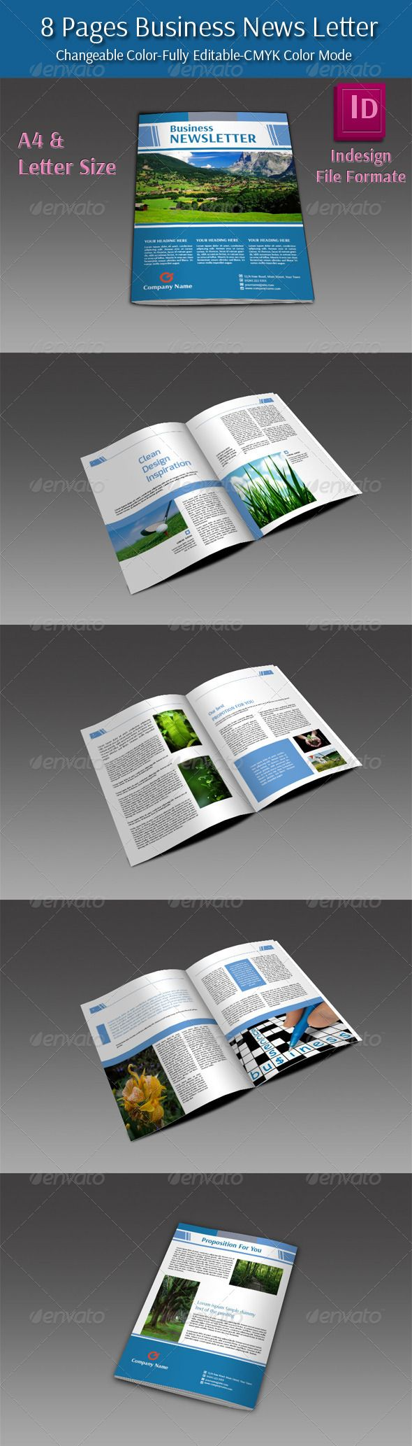 8 Pages Business Newletter - Newsletters Print Templates Download here : https://graphicriver.net/item/8-pages-business-newletter/6088732?s_rank=304&ref=Al-fatih