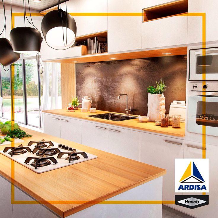 Algunas personas sueñan con una cocina perfecta, otras la crean.