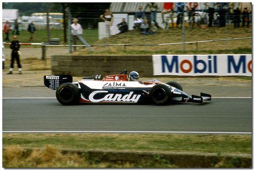 Derek Warwick Toleman Hart TG181 F1 1981 British GP Silverstone