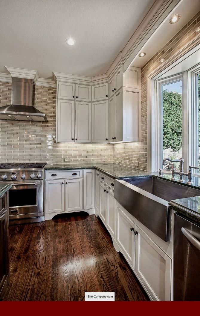 Dark Wood Floors Paint Ideas Used Laminate Flooring Ideas And Pics Of Most Durable Living Room Flooring Tip 38972283 Oaklaminateflooring Classic White Kitchen White Kitchen Cabinets Home Decor