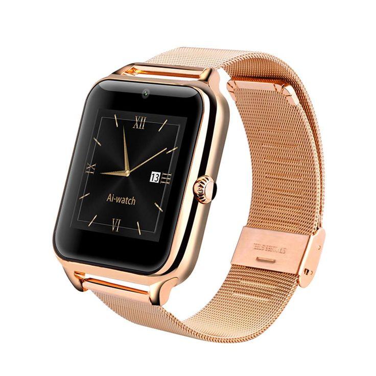 Datum Modus Bluetooth Smart Uhr SmartWatches Tragbares Gerät Pulsmesser Uhr Z50 mit 2G GSM NFC G-Sensor 0.3MP Kamera //Price: $US $199.99 & FREE Shipping //     #smartuhren