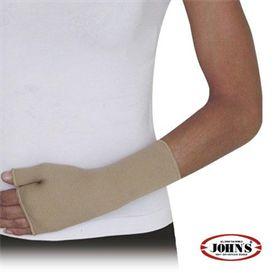 WRIST SUPPORT THUMB GLOVE JOHN'S® Elastic tubular wrist bandage with thumb.