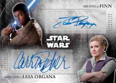Star Wars The Force Awakens Chrome Finn Leia