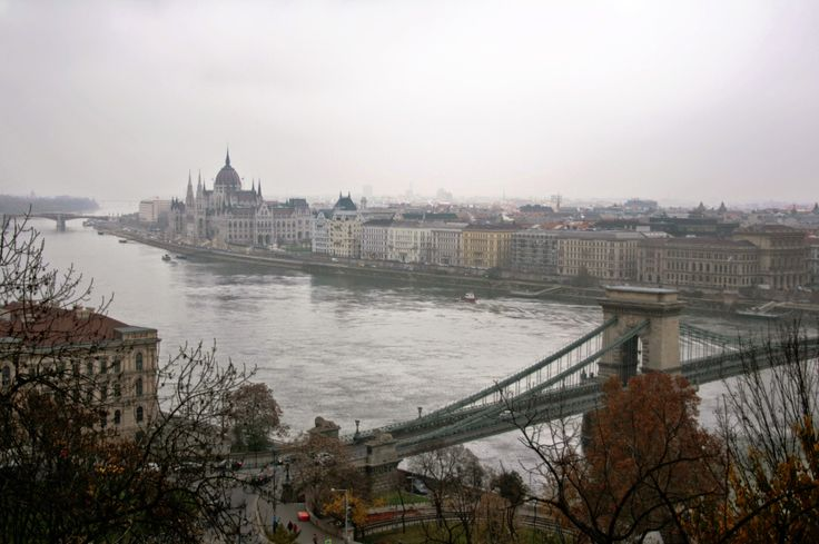 Danube - Budapest - The wibbley bits
