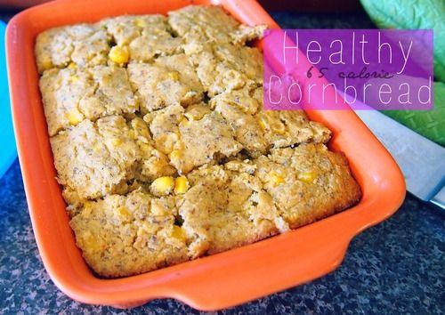 Healthy 65 Calorie Low-Carb Cornbread!