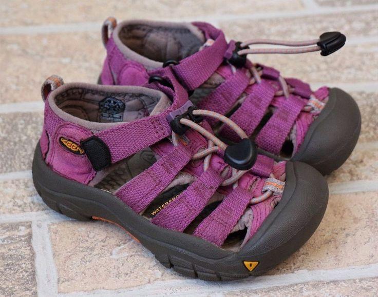 KEEN Purple Gray Water Sandals Bungee Hiking Toddler Girls Size 9 Shoes Summer #Keen #Sandals #Outdoor