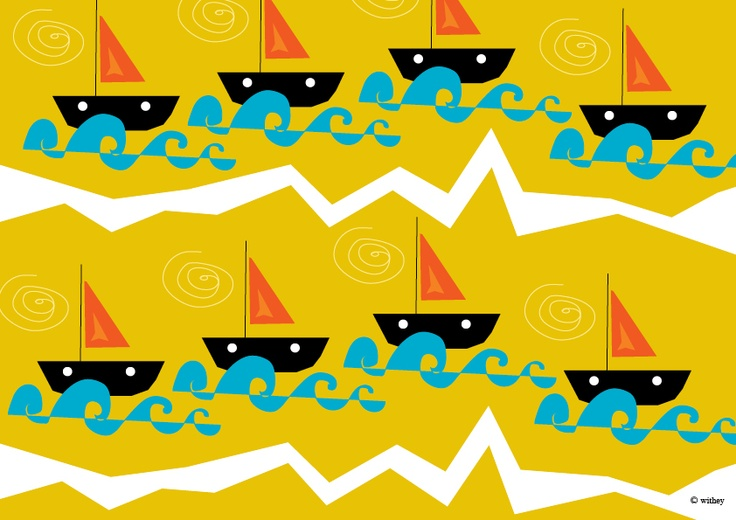 Bateau. I want to make skirts out of this fabric!