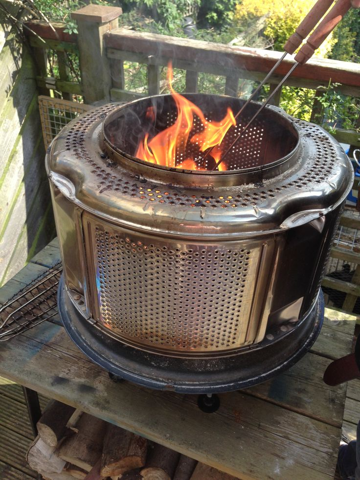 could you grill with a washing machine drum bbq is fun. Black Bedroom Furniture Sets. Home Design Ideas