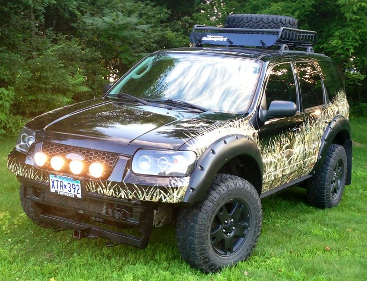 Ford Explorer Roof Rack >> Camo'ed ford escape | Off road | Pinterest | Ford