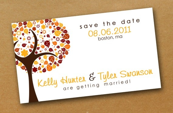 Save the date magnet $65/50