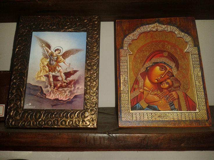 retablos en madera.
