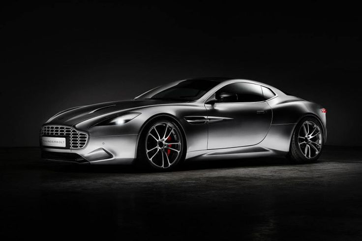 henrik fisker thunderbolt interpretation of aston martin V12 vanquish