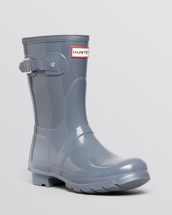 Hunter Rain Boots - Women's Original Short Glossy