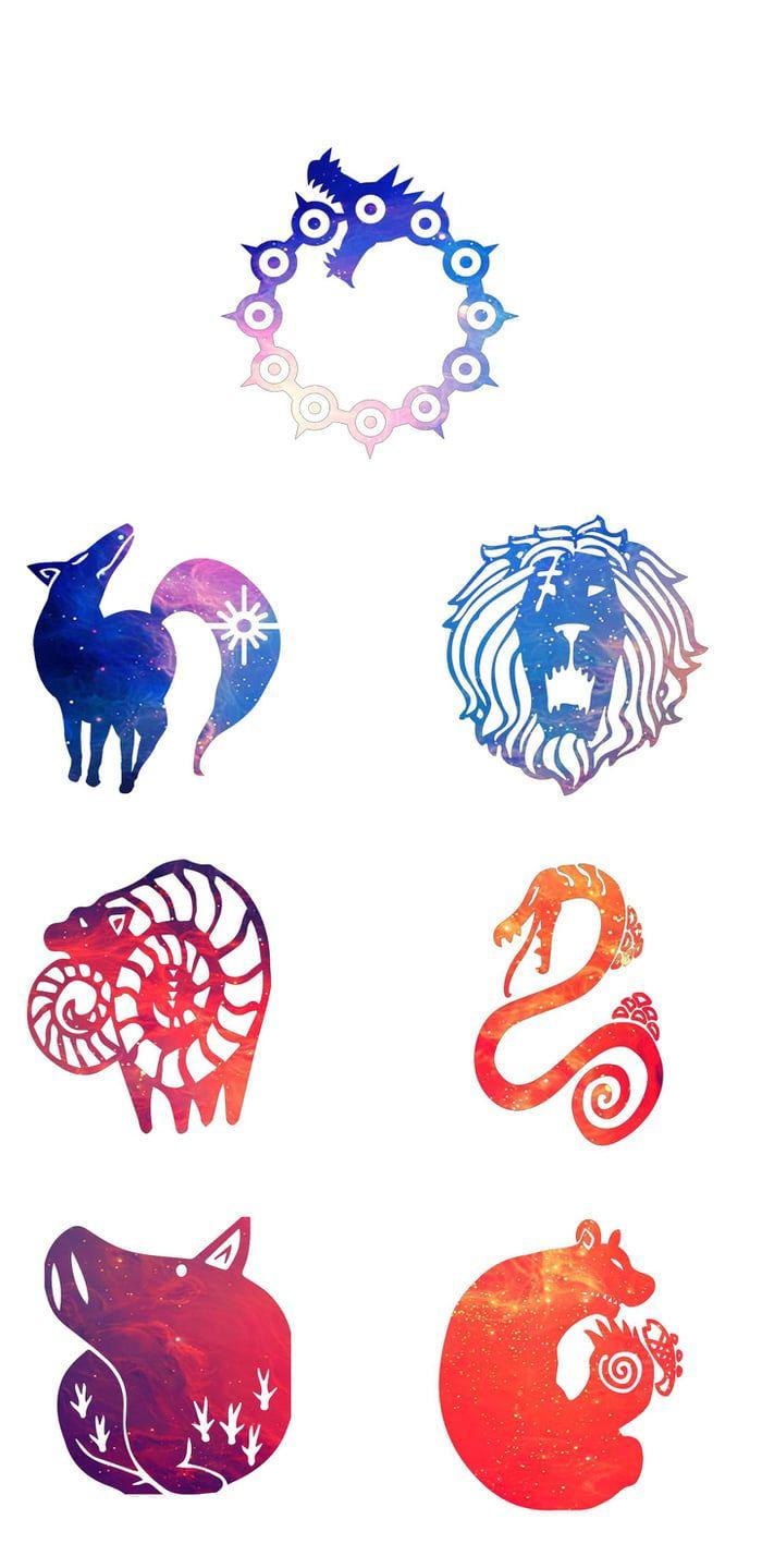 Anime Logo Wallpaper 8 Anime Artwork Wallpaper Seven Deadly Sins Tattoo Seven Deadly Sins Anime