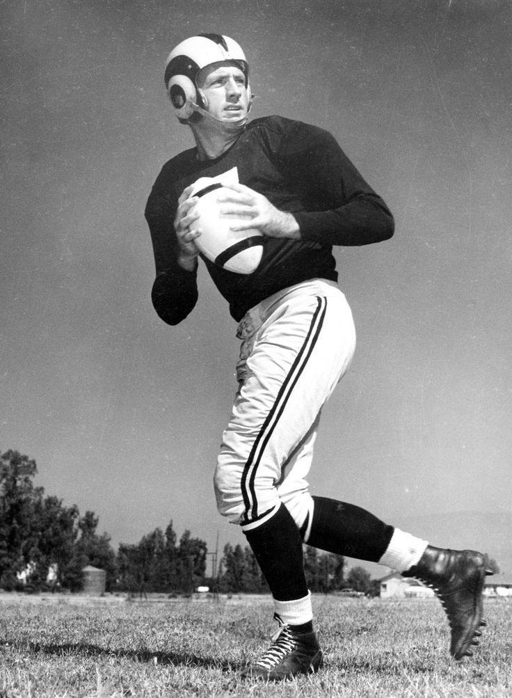 Bob Waterfield, Football Hall Of Famer Image source http