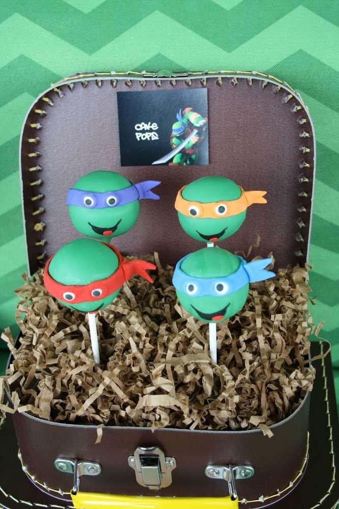 Teenage Mutant Ninja Turtles Birthday Party Ideas | Photo 3 of 25 | Catch My Party