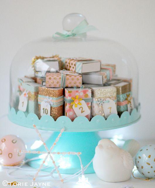 Torie Jayne - Matchbox Advent Calendar Tutorial