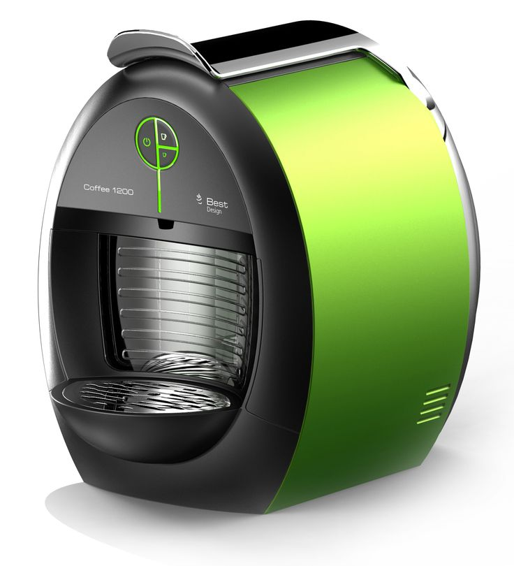 coffee machine design by ferberdesign