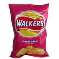 I would die for some Walkers Prawn Cocktail Crisps or Ketchup Crisps! <3