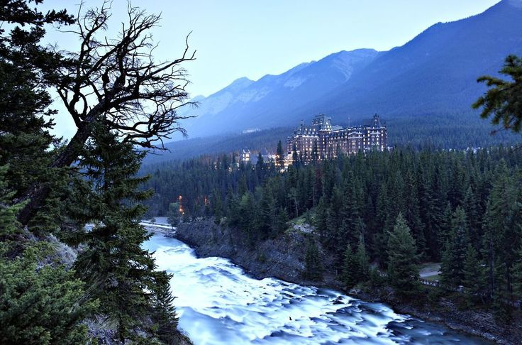 Banff Spring Hotel Photo by Yan Gao — National Geographic Your Shot