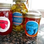new jar labels for my homemade jam!