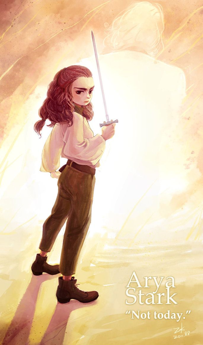 Arya Stark ~ Game of Thrones Fan Art by darth-coco