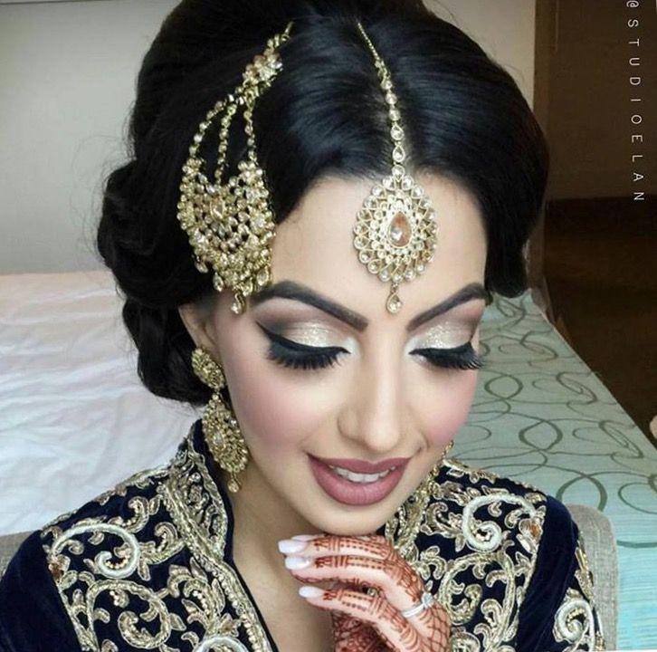 Fantastic 25 Best Ideas About Desi Bridal Makeup On Pinterest Pakistani Hairstyle Inspiration Daily Dogsangcom