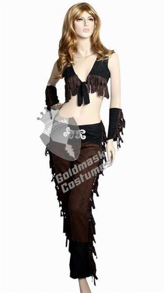 Маскарадные костюм девушки ковбоя