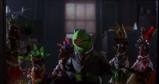 """25 Reasons why """"The Muppet Christmas Carol"""" is the best carol of them all - # 9 Rats in grass skirts"""