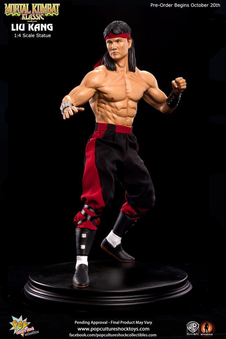 Mortal Kombat: Klassic Liu Kang 1:4 Scale Statue