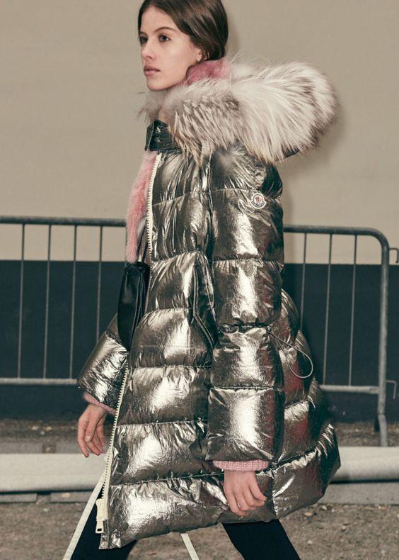 Вещь дня: серебристый пуховик - Модный блог