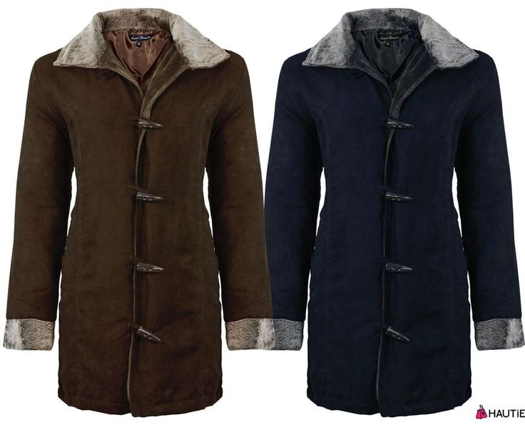 Details about NEW LADIES DESIGNER WINTER JACKET WOMENS TOGGLE