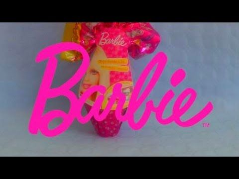 Barbie doll maxi surprise egg with toy inside unboxing