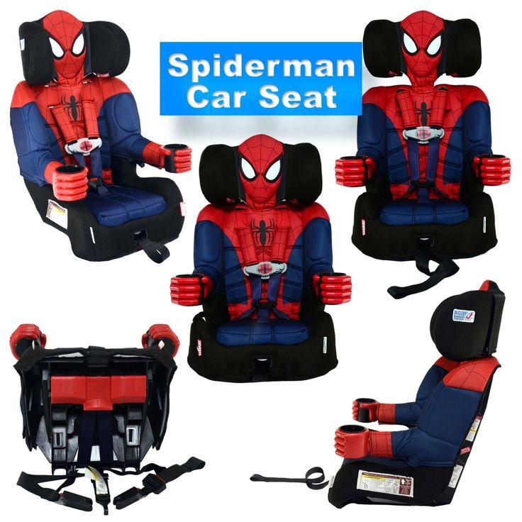 Spiderman car seat