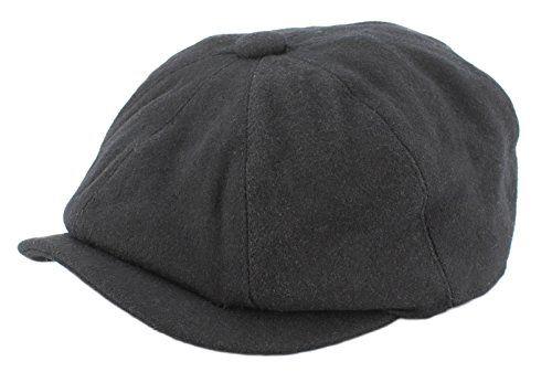 70 kr. (Findes også i grå) Rob wool mix bakerboy cap (Medium 58cm, Black) The Hat Company http://www.amazon.co.uk/dp/B00YHJDDZO/ref=cm_sw_r_pi_dp_PyV2wb043G8RQ