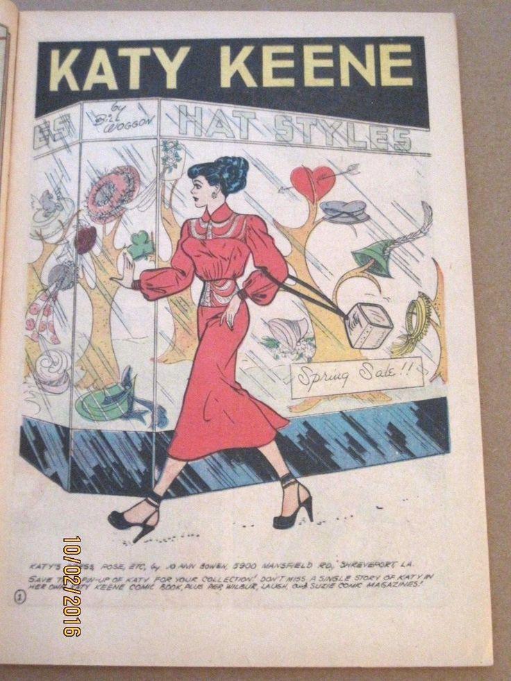 Уилбер комикс #39, окт 1951, katy keene 6 pg История - 52 страниц ~ Арчи комиксы ~ очень хорошее | eBay