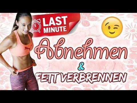 Tabata Live Workout zur Fettverbrennung - Training - Deutsch - Straffer Körper, dünne Beine - YouTube